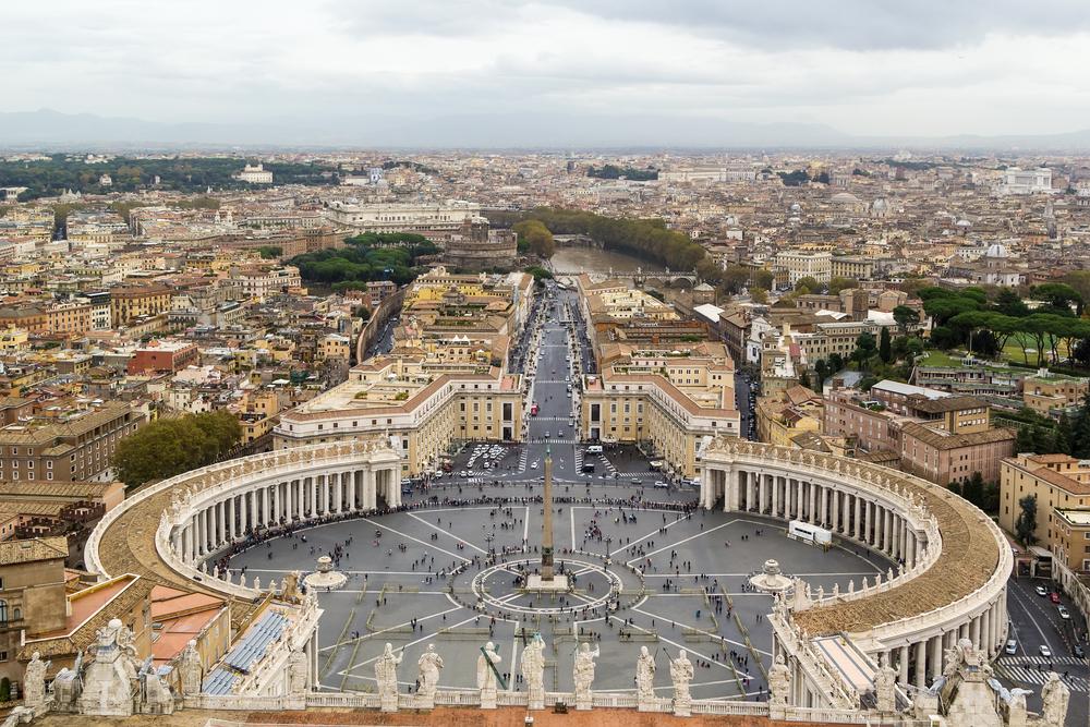 que faire à Rome Place du Vatican