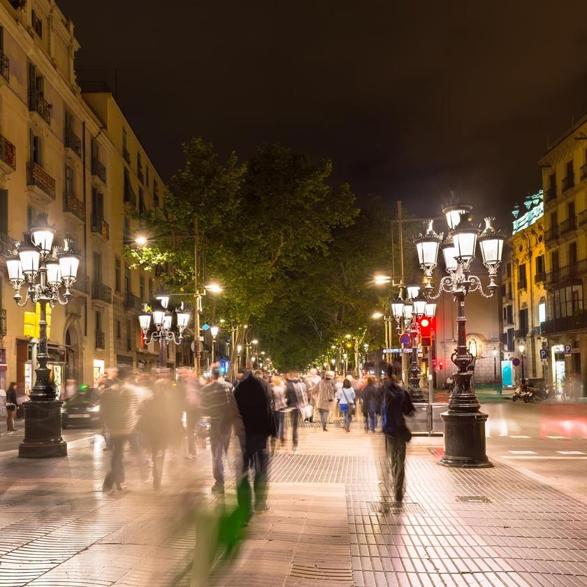 Séjour à Barcelone : la Rambla
