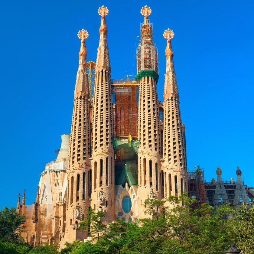 Sagrada familia séjour à Barcelone