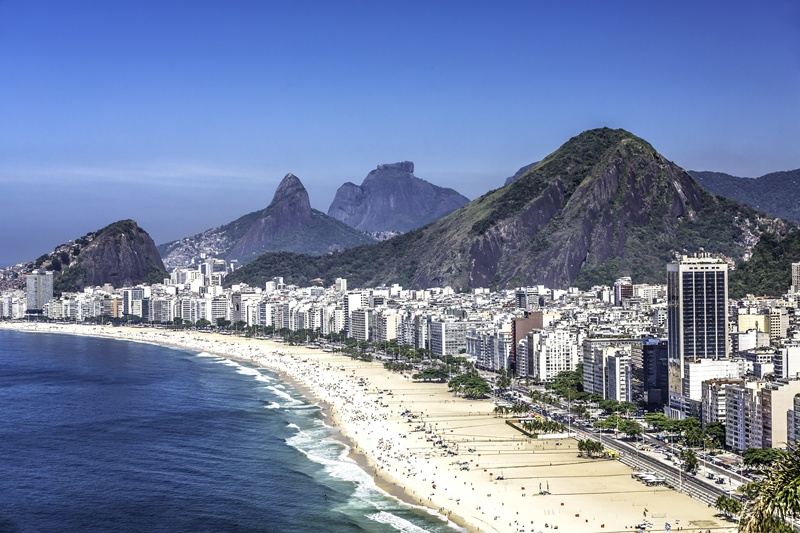 que faire à Rio de Janeiro : Plage de Copacabana