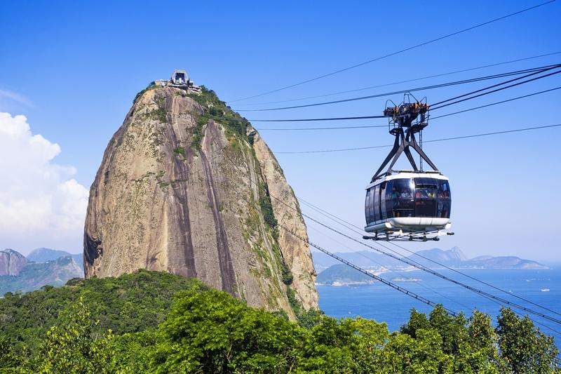 que faire à Rio de Janeiro : Pain du Sucre
