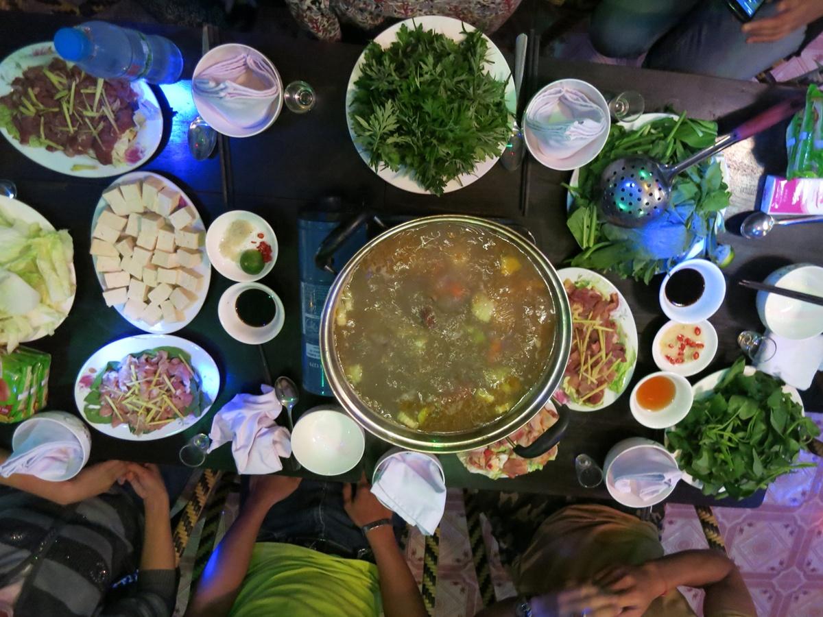voyage au Vietnam : nourriture