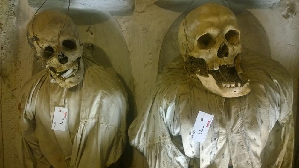 visiter palerme en un weekend : catacombes